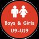 Boys & Girls U9-U19